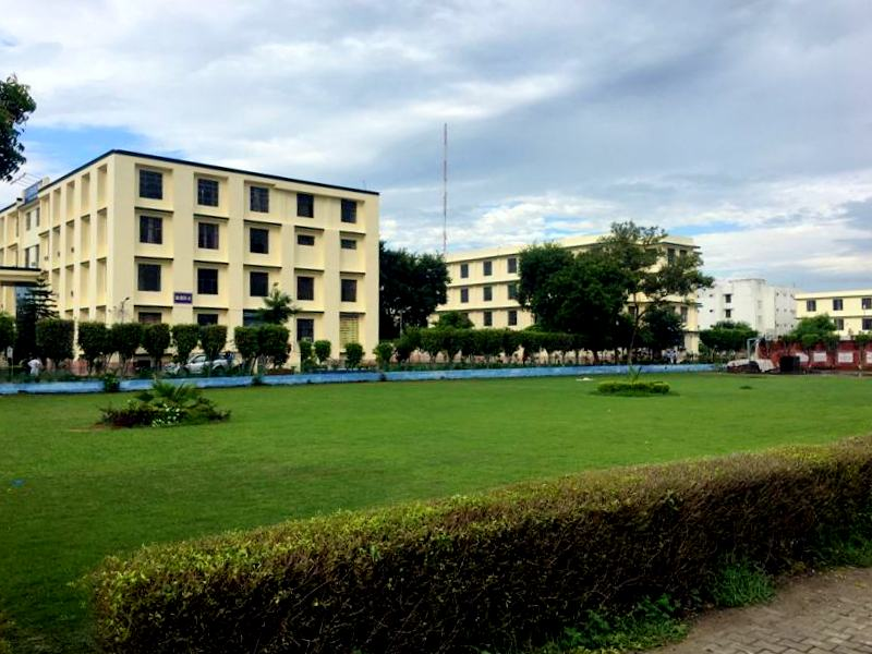 Academic Blocks With Lush Green Outfields